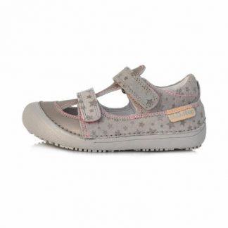 Dievcenske letne sandalky sede