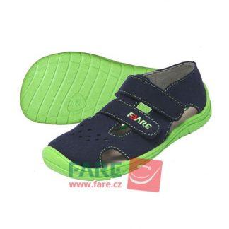 chlapcenske letne sandalky modrozelene