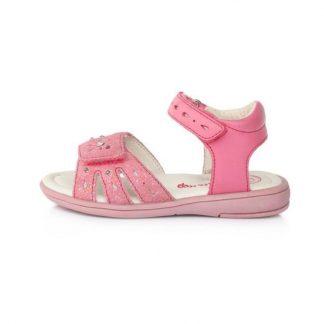 Dievcenske letne svietiace sandalky ruzove